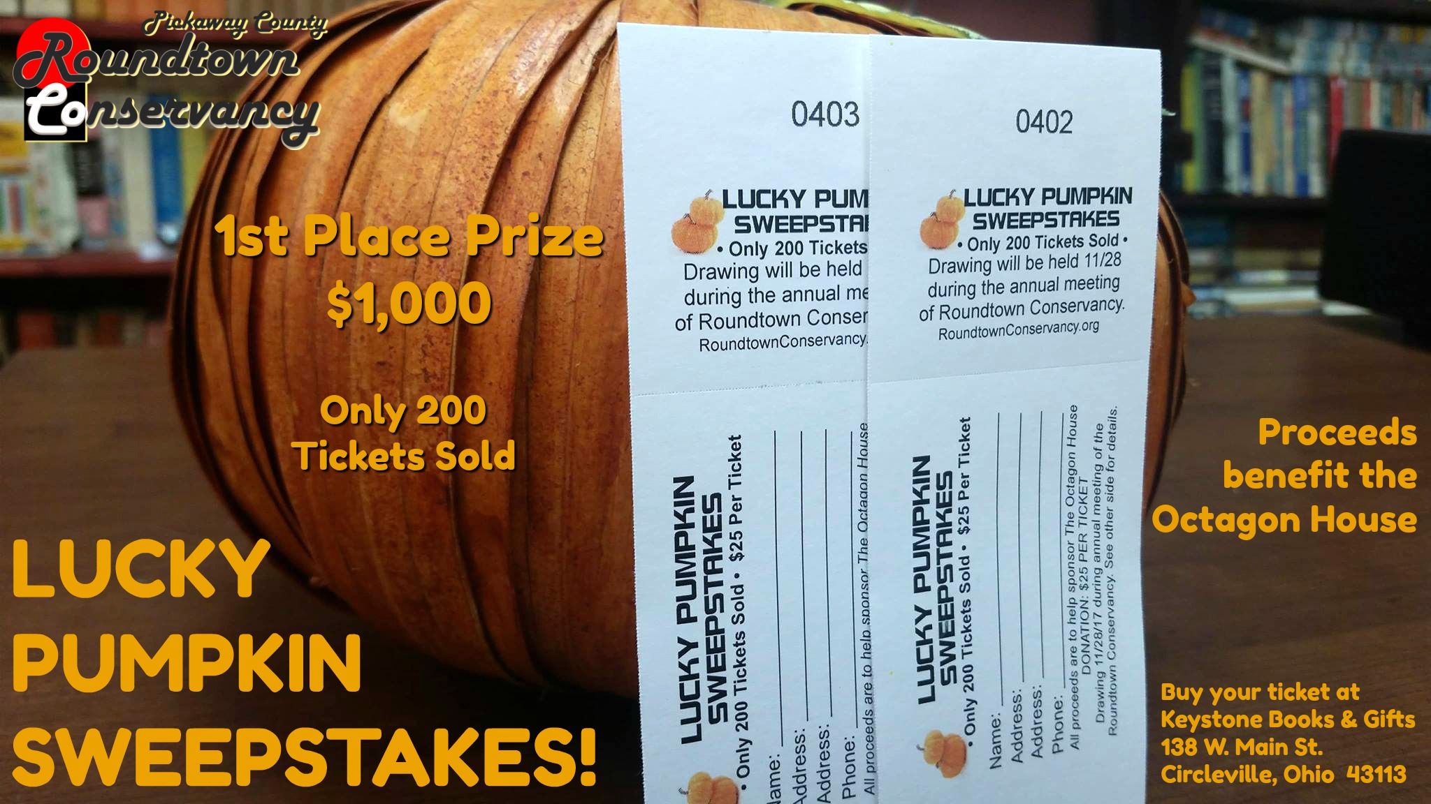 Lucky Pumpkin Sweepstakes